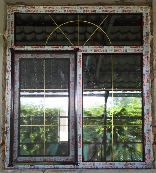 Окно 1,4х1,2, профиль Гальвин